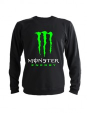 Свитшот Monster energy черный
