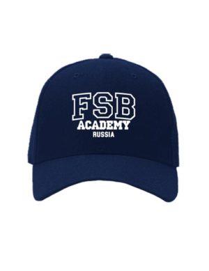 Бейсболка ФСБ академия темно синяя