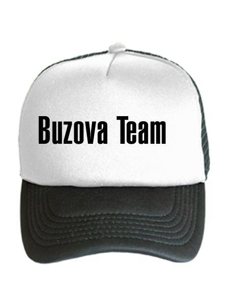 Бейсболка Buzova Team бело-черная