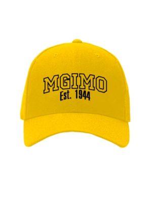 Бейсболка MGIMO желтая