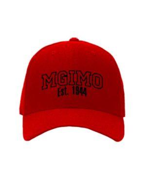 Бейсболка MGIMO красная