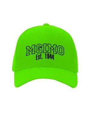 Бейсболка MGIMO салатовая