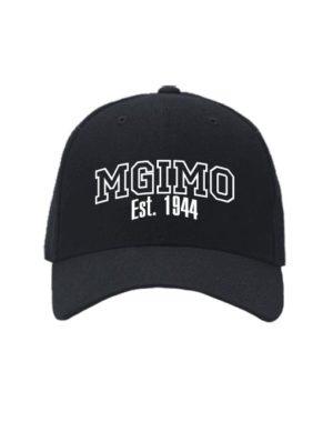 Бейсболка MGIMO черная