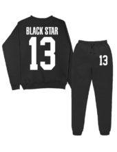 Именной костюм Black Star 13 черный