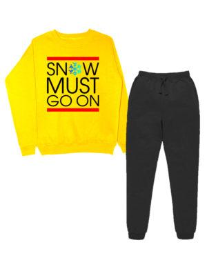 Костюм Snow must go on желто-черный