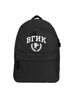 Рюкзак ВГИК черный