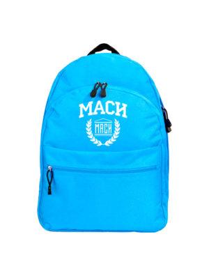 Рюкзак МАСИ голубой