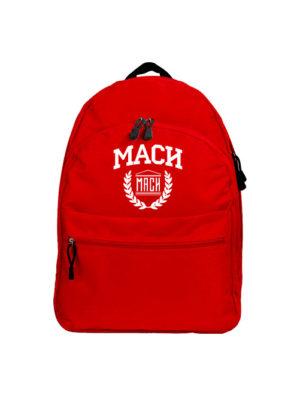 Рюкзак МАСИ красный