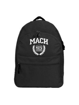 Рюкзак МАСИ черный