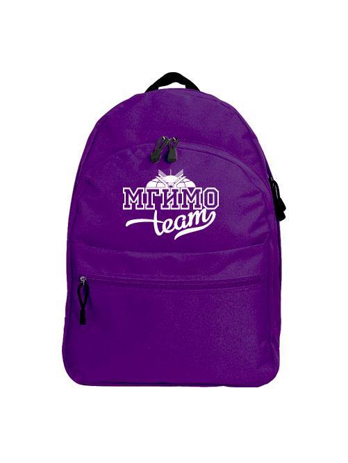 Рюкзак МГИМО Team фиолетовый