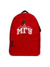 Рюкзак МГУ красный