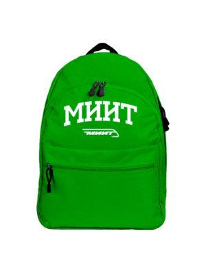 Рюкзак МИИТ зеленый