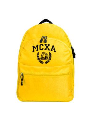 Рюкзак МСХА желтый