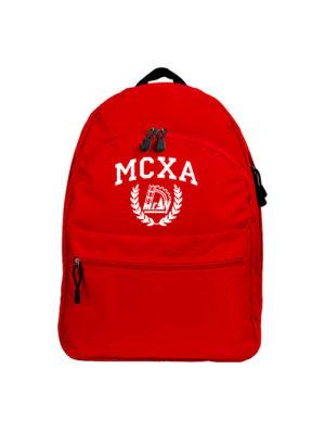 Рюкзак МСХА красный