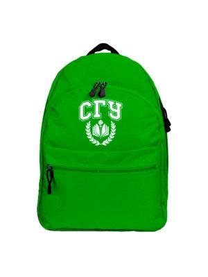Рюкзак СГУ зеленый