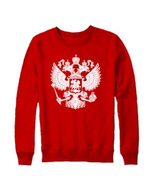 Свитшот Герб РФ красный