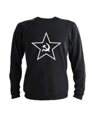 Свитшот Звезда СССР черный
