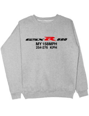 Свитшот Свитшот GSXR-600 серый