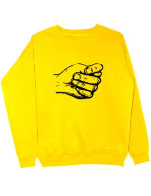 Свитшот Фиквам желтый