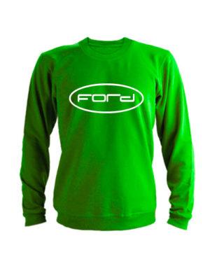 Свитшот Форд зеленый