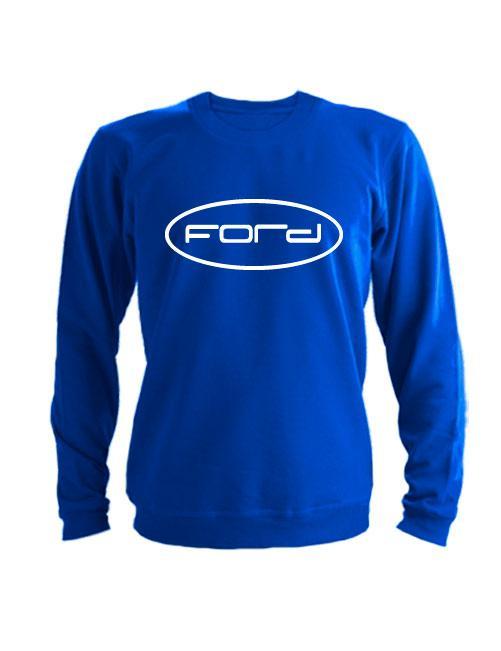 Свитшот Форд синий