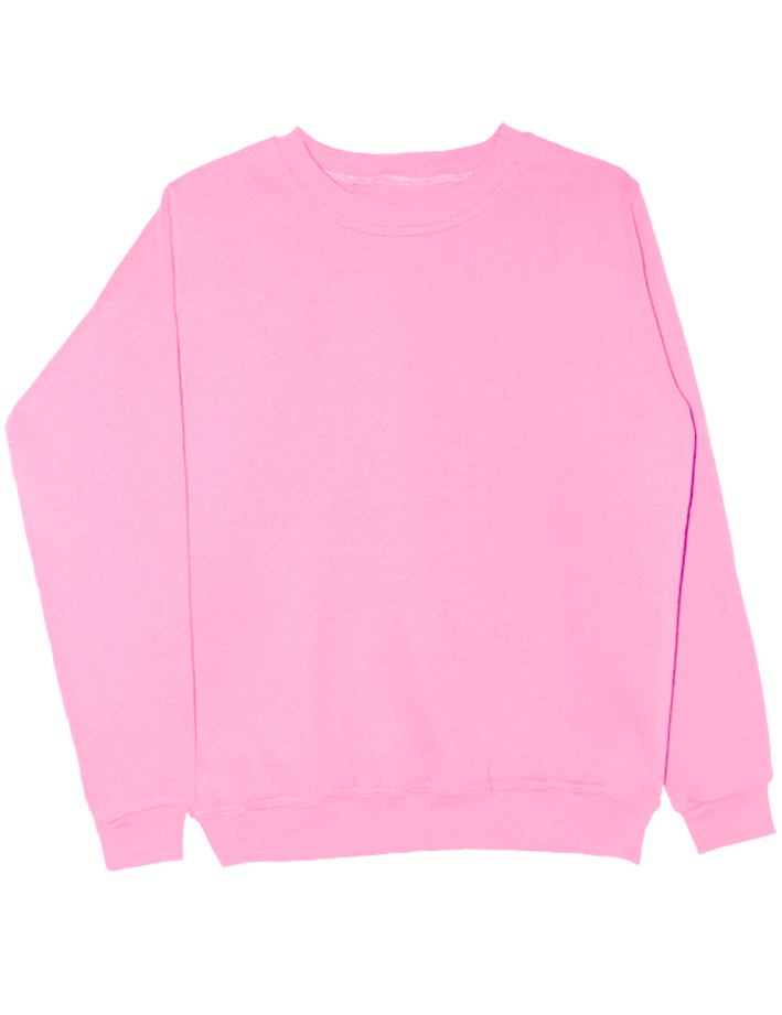 Свитшот нежно розовый
