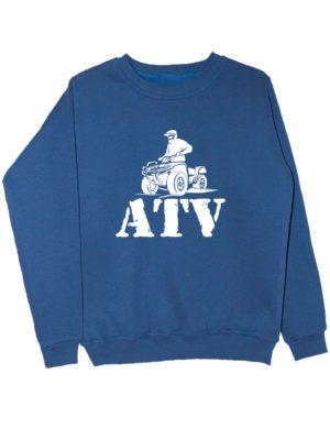 Свитшот ATV индиго