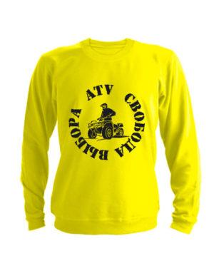 Свитшот ATV свобода выбора желтый