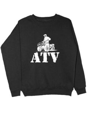 Свитшот ATV черный