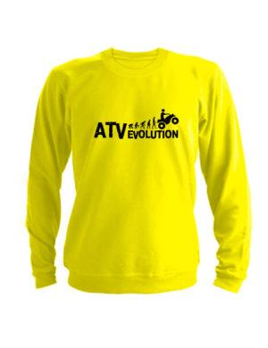 Свитшот ATV evolution желтый