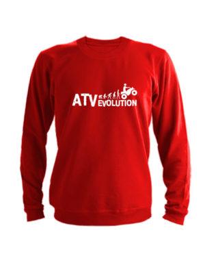 Свитшот ATV evolution красный