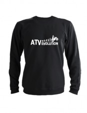Свитшот ATV evolution черный