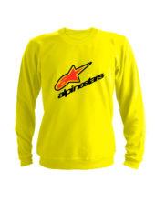 Свитшот Alpinestars желтый