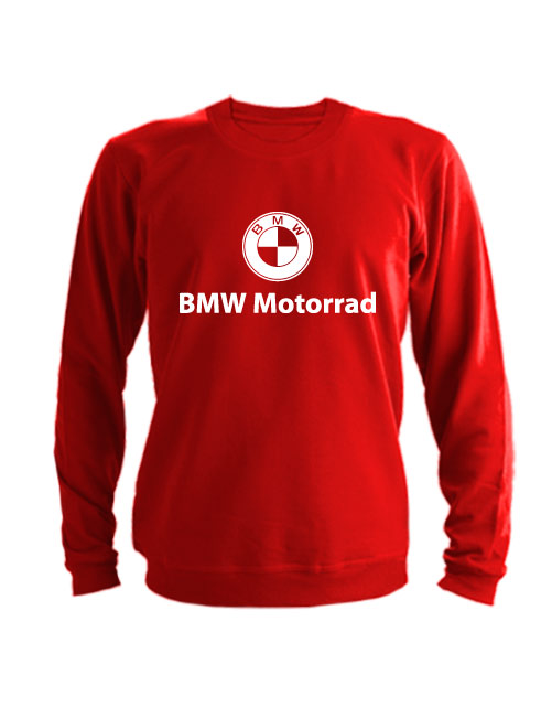 Свитшот BMW Motorrad красный