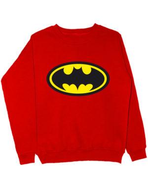 Свитшот Batman красный