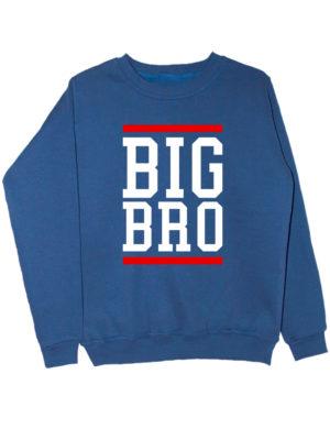Свитшот Big Bro индиго