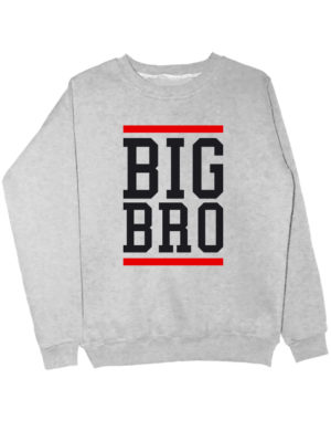 Свитшот Big Bro серый