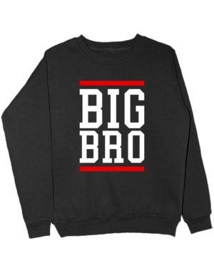 Свитшот Big Bro черный