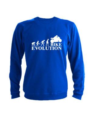 Свитшот Bike evolution синий