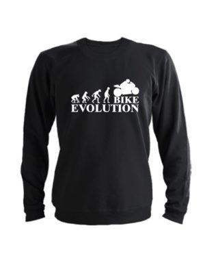 Свитшот Bike evolution черный