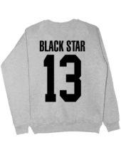Свитшот Black Star 13 серый