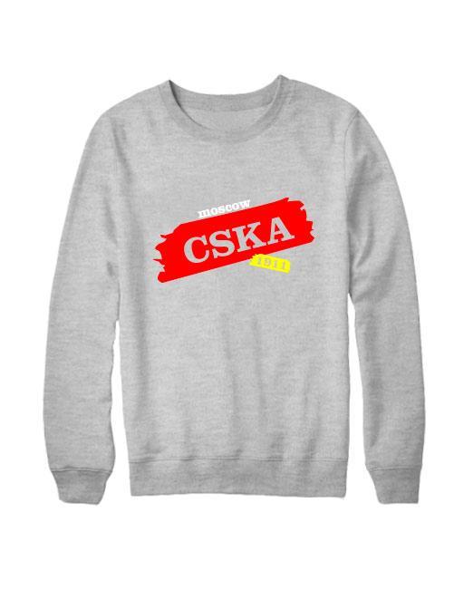 Свитшот CSKA Moscow серый