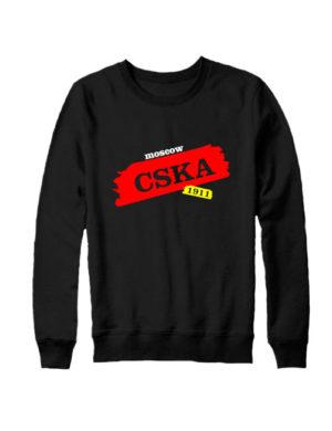 Свитшот CSKA Moscow черный