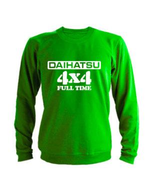 Свитшот Daihatsu зеленый