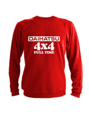 Свитшот Daihatsu красный
