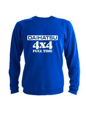 Свитшот Daihatsu синий