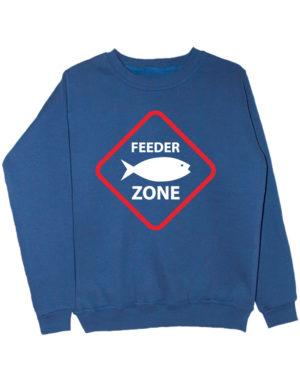 Свитшот Feeder zone индиго