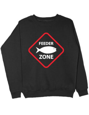 Свитшот Feeder zone черный