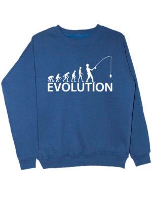 Свитшот Fishing Evolution индиго