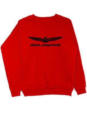Свитшот Goldwing красный